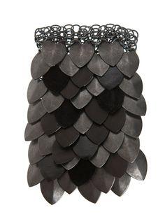 Leather Scale Bracelet | Fannie Schiavoni | Shop | NOT JUST A LABEL
