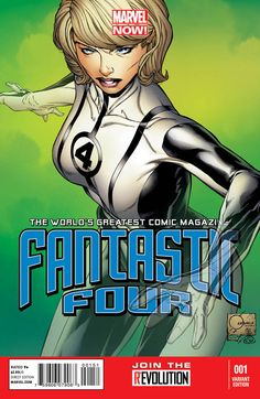 FANTASTIC FOUR #1 (SEP120586)    FANTASTIC FOUR #1 QUESADA VARIANT (SEP120588)    FANTASTIC FOUR #1 QUESADA SKETCH VARIANT (SEP120589)    Written by MATT FRACTION    Art & Cover by MARK BAGLEY    Variant Covers by JOE QUESADA    FOC – 10/22/12, ON-SALE – 11/14/12     http://marvelentertainment.tumblr.com/post/34098513038/marvel-is-pleased-to-present-your-first-look-at