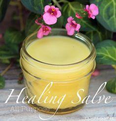 All Purpose Healing Salve & Recipe