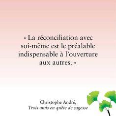 """Christophe André """"Trois amis en quête de sagesse"""""""