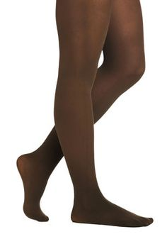 Layer It On Tights in Camel, #ModCloth