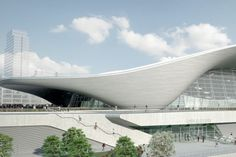 London Aquatics Centre for the 2012 Olympics | Zaha Hadid