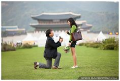 Proposal in Korea | Yo El Goes On A Knee For Dan Hee