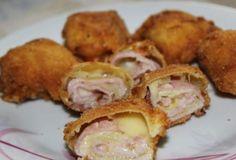 Vyprážané Cuketové rolky so šunkou a syrom: Obalené v trojobale a pripravené za pár minút. Chutia famózne a nahradia aj tradičné verzie!