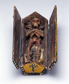Memento mori showing a decomposing corpse, Europe, pre 1936