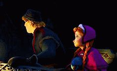 Anna and Kristoff moments