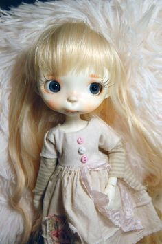 Custom Malisa' or Miko' collectible BJD resin doll by