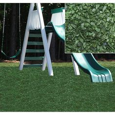 Rubber Bark By Ground Cover Mulch Shredded Playground Play Areas Landscaping The Great Outdoors Pinterest