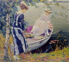 About To Go ~ Edward Cucuel ~ (American: 1875-1954)