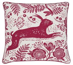 Buy Heart of House Hare Cushion at Argos.co.uk, visit Argos.co.uk to shop online for Cushions, Home furnishings, Home and garden Stock Clearance, Cushions, Pillows, New Living Room, Argos, Soft Furnishings, Hare, Moose Art, Home And Garden