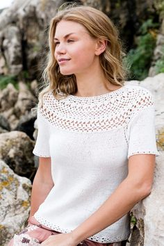 Nordic Yarns and Design since 1928 Knitting Patterns, Crochet Patterns, Crochet Top, Scarves, Sweaters, Cotton, Tops, Women, Gloves