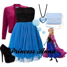 """""""Princess Anna"""" by amarie104 on Polyvore"""