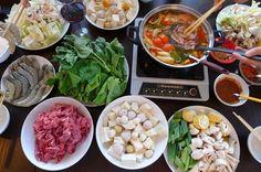 Vietnamese hotpot recipe -Thai style - Lau Thai Lan