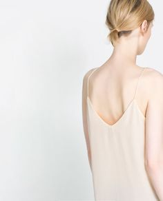 a blush/nude camisole like this should be in every woman's wardrobe.