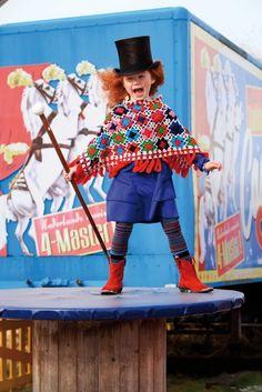 #mimpi #circus #cute #girls #kids #fashion #poncho