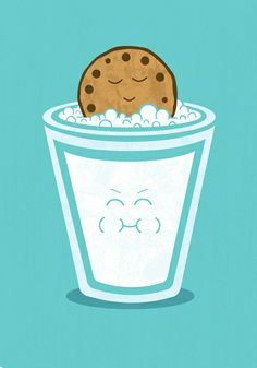 Damn Funny Illustrations Hot Tub Cookie by Teo Zirinis Funny Illustration, Food Illustrations, Iphone 4s, Iphone Cases, Humor Grafico, Canvas Prints, Art Prints, Cute Images, All Things Cute