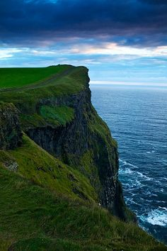 Cliffs of Moher, County Clare, Ireland. It's as beautiful as this in real life!