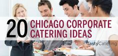 Find 20 of our favorite corporate catering Ideas for Chicago, or for any other city out there. These suggestions will include corporate catering menus, corporate event catering ideas and more. Catering Menu, Catering Ideas, Event Themes, Corporate Events, Chicago, Meals, Style, Swag, Meal