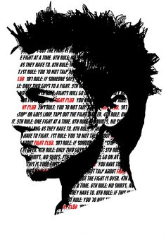 Fight Club by Anthony Sanders for Cult Cinema Sunday