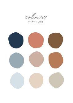 color sets. neutral tones. earth colors. mood board. repost.
