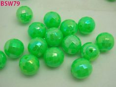 Acrylic Plastic, Acrylic Beads, Bright Green, Charm Jewelry, Different Styles, Charms, Color, Colour, Colors