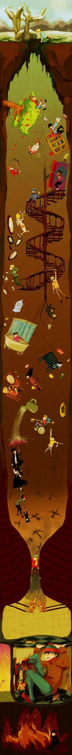 Tags: South Park, Stanley Randall Marsh, Kenneth McCormick, Phillip Pirrup, Leopold Stotch, Kyle Broflovski, Eric Theodore Cartman, Wendy Testaburger, Tweek Tweak, Craig Tucker, Token Williams, Bebe Stevens, Gregory, Clyde Donovan, Ike Broflovski, Timmy, Firkle, Towelie, Shelley Marsh, Damien, Mole (South Park), Kevin Stoley, Goth Kids, Kyle Schwartz, Michael (South Park)