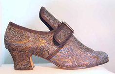 A historic shoe but contemporary at the same time