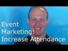 Event marketing tutorial. How to promote an event to increase event atte...