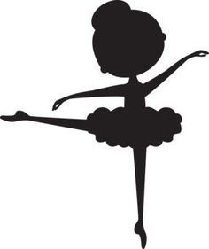 Images of Ballet Silhouette Png Diy And Crafts, Crafts For Kids, Paper Crafts, Ballerina Silhouette, Silhouette Png, Ballerina Birthday, Little Girl Rooms, Party Themes, Stencils