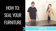 This is part # 3 of our 3 part video series on how to refinish a piece of furniture. Terra & Ray from meet the makers will walk your trough step by step how . Seal, Channel, Stains, Youtube, Furniture, Harbor Seal, Home Furniture, Seals