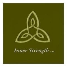 2017 trend Meaningful Tattoos Ideas - Green Celtic Symbol For Inner Strength Posters Symbol For Inner Strength, Inner Strength Tattoo, Strength Tattoo Symbol, Symbols Of Strength Tattoos, Symbol For Peace, Tattoos That Mean Strength, Tattoos That Symbolize Strength, Warrior Symbol Tattoo, Irish Tattoos