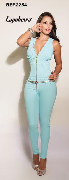 Enterizo Jeans Gerona ENT-02254