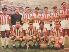 Necaxa of Mexico team group in Diego Martinez, Mexico Team, Football Mexicano, Sumo, Soccer, Wrestling, 1970s, Group, Saints