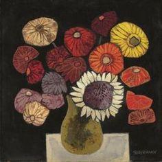 "windypoplarsroom:  Oswaldo Guayasamín ""Flowers"""