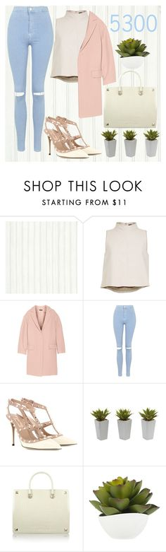 """""""❤ 5300 ❤"""" by amymorgan1999 ❤ liked on Polyvore featuring TIBI, DKNY, Topshop, Valentino and Nearly Natural"""