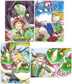 PSC - How to Train Your Dragon by AmyClark.deviantart.com on @deviantART