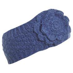 Knit headband-purple