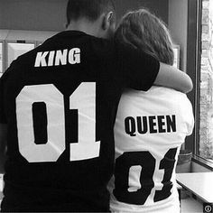Matching King and Queen T-Shirts - $30.00