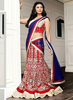 Exquisite Cotton Red Lehenga Choli