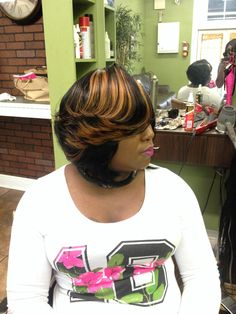 is that a weave?? YES! quickweave by lavishdeevahair