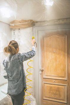 Vamos a Pintar las puertas con chalk paint y pistola! y el resultado es espectacular!!! animate y alucinaras.