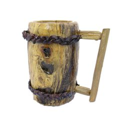 LARGE Wooden Tankard Viking Style Staved with by KentuckyRootsWood