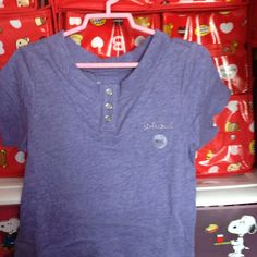 Blue Button Top 4-6 yrs S$12.90