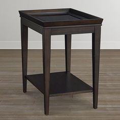 16 x 22 x 24H Bassett Furniture - Commonwealth Chairside Table