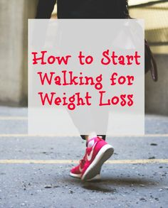 Lose the weight and get off the couch with our simple steps to start walking for weight loss. #WeightLoss #StartWalking #Fitness