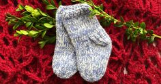 Vintersockor till baby | Allers Baby Knitting Patterns, Baby Sewing, Kids And Parenting, Diy And Crafts, Knit Crochet, Kids Outfits, Socks, Children, Clothes