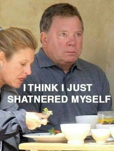 William Shatner. Star Trek. Kirk Shat.