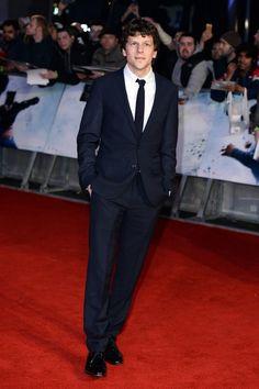 Jesse Eisenberg attends the 'Batman V Superman: Dawn of Justice'- European Premiere.