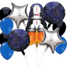 Mylar Latex Party Balloon Set - Disney Miles from Tomorrowland- Great Miles party decoration #MilesFromTomorrowlandParty