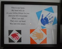 Trendy Holiday Gifts For Grandparents Handprint Art 32 Ideas Grandparents Day Poem, Grandparent Gifts, Crafts For Boys, Fathers Day Crafts, Family Crafts, Toddler Crafts, Craft Gifts, Diy Gifts, Quotes Girlfriend